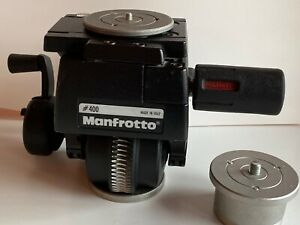 Manfrotto 400 professional geared head w/quick release plates