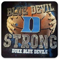 "Duke University Basketball ""Blue Devil Strong"" - Duke Blue Devils type MAGNET"