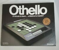 Vintage 1990 Othello Game Mind Trap Complete w/ Instructions Excellent Condition