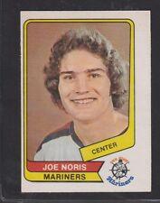 1976-77 OPC O PEE CHEE WHA  #46  JOE NORIS  RC  EX-MT  INV  3489