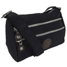 Kleine süße Umhängetasche Schultertasche Damen Tasche City Reisetasche Schwarz