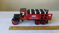 Vintage Ertl Kenworth Die Cast Delivery Truck Barrels Bank Collectible No key