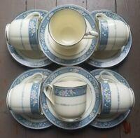 Noritake Bone China Japan, Randolph,# 9721-Coffee/Tea, Cup & Saucer (set of 6)