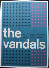 "The Vandals, Sublime, 2 Sided Punk/Rock Concert Mini Poster Art 14"" x10"" Ref:181"