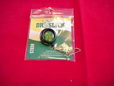 Fly Fishing Dr Slick Steel Cord Black Pin On Zinger w Swivel Great