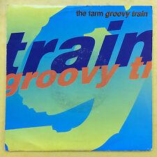 The Farm - Groovy Train - Produce Records MILK-102 Ex Condition