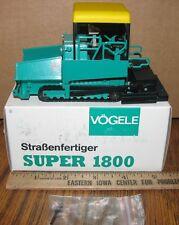Vogele Super 1800 Asphalt Road Paver NZG 385 Construction Toy 1/50 DieCast NEW