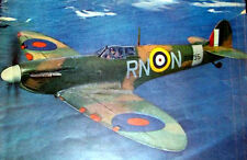 """Dynaflite SPITFIRE PLAN to Scratch-Build a Semi-Scale 56"""" Span RC Model Airplane"""