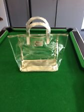 c8e8733b1a Michael Kors TOTE BAG CLEAR SHOPPER BEACH BAG