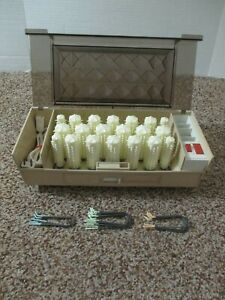 CLAIROL KINDNESS 3 WAY HAIRSETTER 20 STEAM MIST HOT ROLLERS CLIPS K300 DENMARK