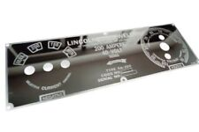 Mirrored Stainless Steel SHORTHOOD FACEPLATE Lincoln SA-200 Welder M-6549 BW684