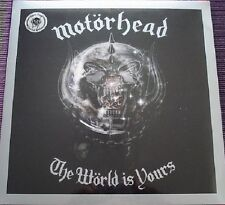 Motörhead / Motorhead - The World is Yours LP SILVER EDITION Limited 1000 Copies