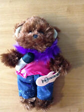 """New 8-10"""" Soft Brown Teddy Bear dress* RockStar Outfit*+Accessories Complete #13"""