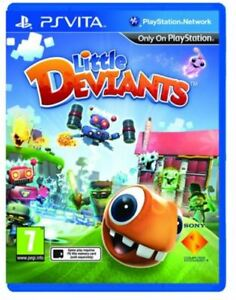 Little Deviants PS VITA Game NEW UK PAL Sony Playstation PSV for Kids Devients