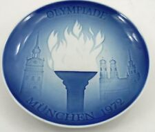 1972 Bing & Grondahl Munich Olympics Olympic Games Memorial Commemorative Plate