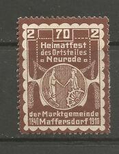 Czech Republic/Liberec, Vratislavice nad Nisou (Maffersdorf) 1910 Heimatfest