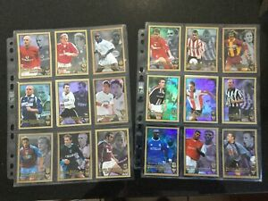 F.A. Premier League 2001 Full Set Of 20 Ultrafoils - Merlin - Rare