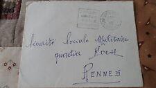 Enveloppe - De St Philbert à Rennes - 1959 - Pour la Sécurité Sociale Militaire