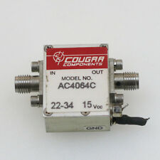 1pc COUGAR AC4064C 800-4000MHz SMA RF Coaxial Microwave Amplifier