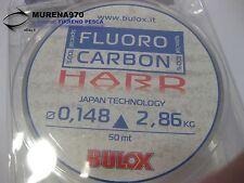 MONOFILO BULOX FLUORO CARBON 100% HARD 50mt 0,148mm 2,86kg - FIL70