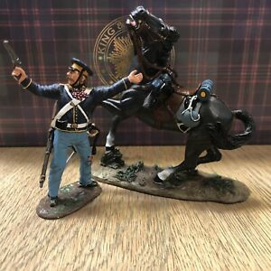King & Country: Boxed Set TRW010 - Dismounted Dragoon With Pistol