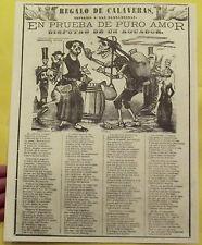 AFFICHE PUBLICITAIRE EN PRUEBA DE PURO AMOR DISPUTAS DE UN AGUADOR