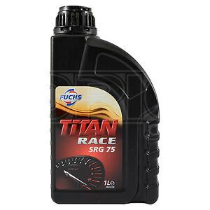 Fuchs Titan Race SRG 75 Full Ester Synthetic Racing Gear Oil 1 Litre