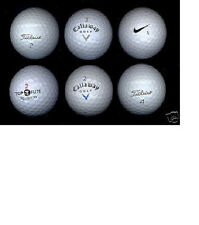LOT OF 100 GOLF BALLS CALLAWAY, NIKE, TITLEIST, PRO-V1 (WITH 30 TITLEIST/PRO-V1)