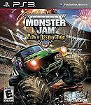 Monster Jam: Path of Destruction  (Sony Playstation 3, 2010) Ps3 w/ Case