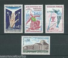 FRANCE - 1970 YT 1648 à 1651 - TIMBRES NEUFS** LUXE