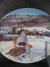 Knowles THE GRAY PARTRIDGE Anderson Upland Birds of North America Ltd Ed plate
