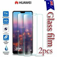 For Huawei P20 Pro P20 Lite P10 P9 Tempered Glass / Plastic Screen Protector