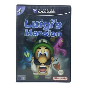 Luigi's Mansion for Nintendo Gamecube - Complete w Manual - Tested & Working