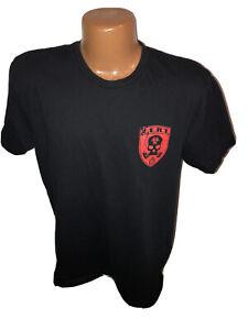 Grunt Style Z.E.R.T Zombie Eradication Response Team Black T Shirt Size Large