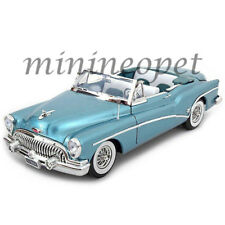 MOTORMAX 73129 1953 BUICK SKYLARK CONVERTIBLE 1/18 DIECAST MODEL CAR LIGHT BLUE