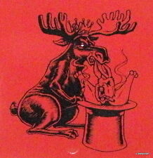 """Popular Box<>""""Chillin Moose Too"""" Wooden Cigar Box By The Foundry<><>"""