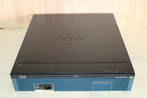 "Cisco 2921 Business Router - 2900 Series - 1x VIC3 2FXS + 2x VIC2-2BRI Rack 19"""