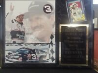 DALE EARNHARDT SR NASCAR LARGE PLAQUE #3 GOODWRENCH WINSTON INTIMIDATOR