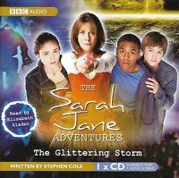 SARAH JANE ADVENTURES<>THE GLITTERING STORM<>BBC AUDIOBOOK<>ELISABETH SLADEN  ~~