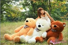 "New 5.25ft 160cm 62.99"" CASE UNFILLED NO PP COTTON Huge Giant Teddy Bear 5.Gift"