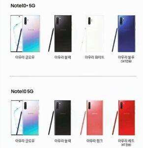 in stock Samsung Galaxy note 10, 10+ 5G SM-N971N, SM-N976N Factory unlocked