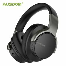 AUSDOM ANC8 Active Noise Cancelling Bluetooth Wireless Over-Ear Headphones