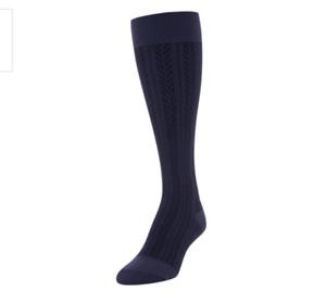 Gold Toe Wellness Womens 9-11 Moderate Compression Herringbone Knee High Socks