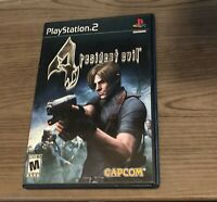 Resident Evil 4 Sony PlayStation 2 PS2 Video Game Complete Tested CIB