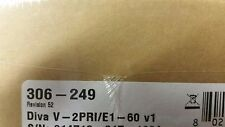 Dialogic Eicon Diva V-2PRI/E1-60 v1 - BRAND NEW FACTORY SEALED (306-249)