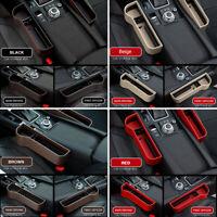 Car Seat Gap Catcher Filler Storage Box Pocket Organizer Cup Holder Supplies AU
