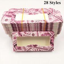 20PCS Paper False Eyelash Packaging Box Lash boxes Faux Cils Mink Case Wholesale