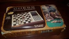 Fidelidad-Chess Challenger #S140 * en Caja *