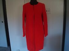 New J. Crew Women  Double Cloth Coat  Red Missing size tag
