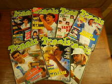 7x Revues TENNIS MAGAZINE 1993 No 206 208 209 210 211 212 213 complet + POSTERS